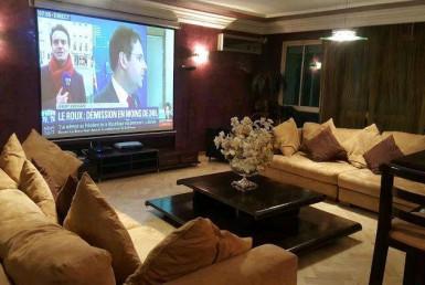 Location spacieux appartement-meublé-Bd Ghandi