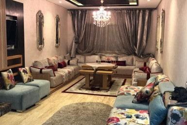 Location bel appartement-meublé- Sidi-Maârouf