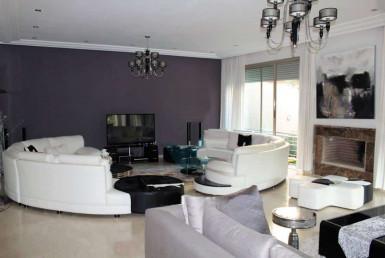 Vente villa résidence-sécurisée-Bouskoura,