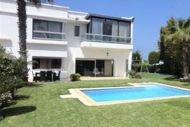 Vente villa avec piscine dar bouazza 4